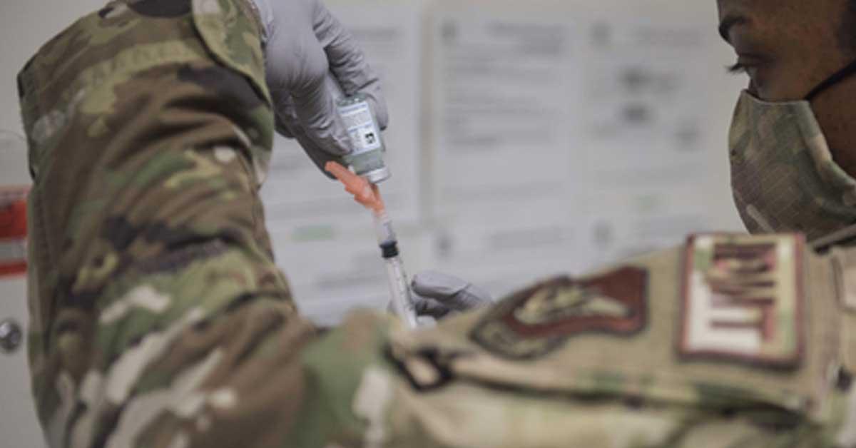 주한 미군 예방 접종, 한국인 제외, 정부 '잠시만 기다려주세요'