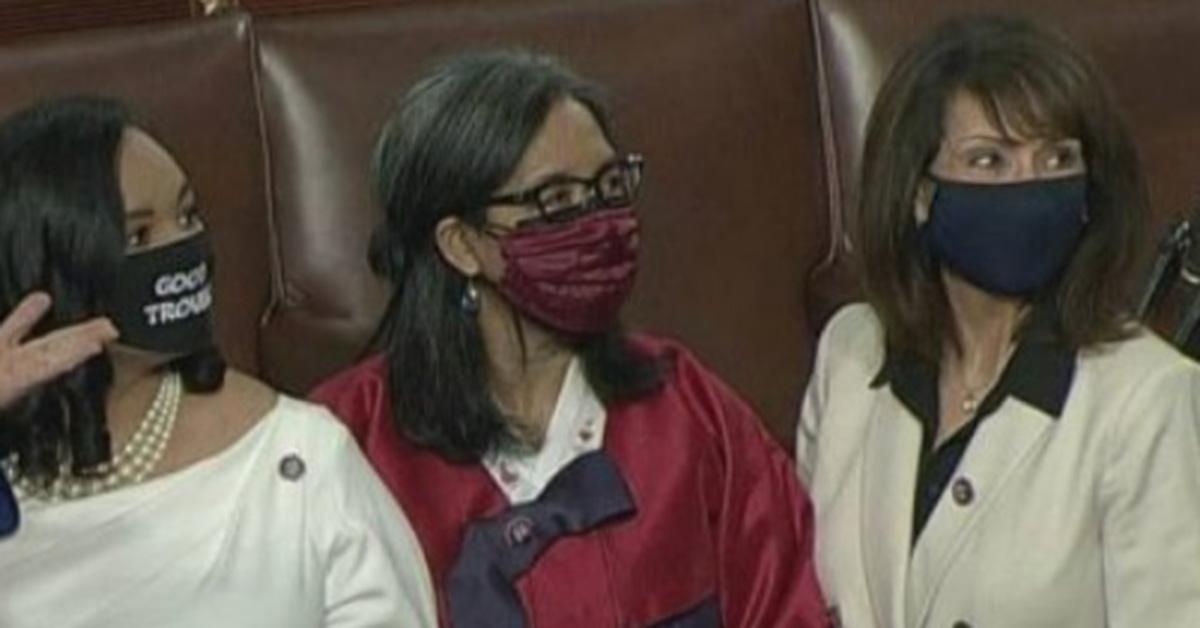 서울에서 태어난 '순자'의원이 한복을 입고 미 의회에 섰다