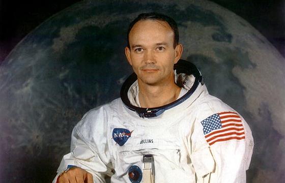 1969년 7월에 촬영된 미 항공우주국(NASA) 유인물 속 마이클 콜린스의 모습. 〈사진=AFP 연합뉴스〉