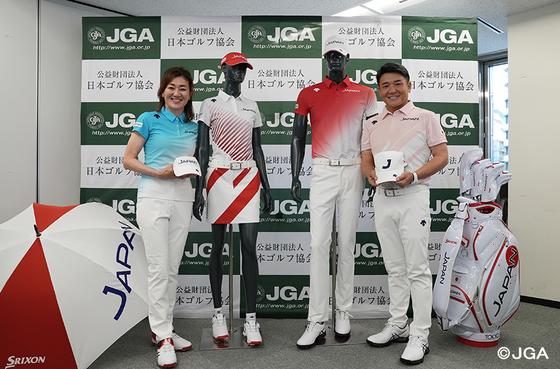 일본 올림픽 골프 대표팀 유니폼. 출처=일본골프협회 홈페이지