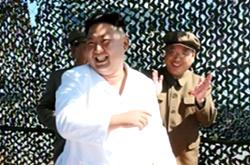 """北 """"위성 운반로켓 엔진분출시험 성공"""" [조선중앙TV]"""