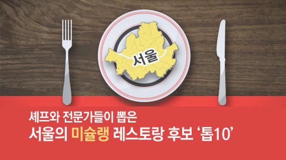 '미슐랭 별 딸 만한 서울 레스토랑은?' 설문조사해 보니…