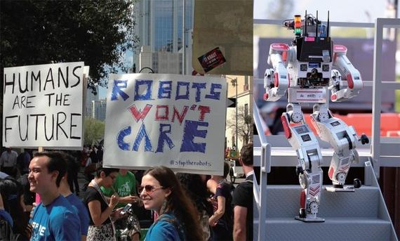 [뉴스위크]로봇과의 일자리 경쟁 시작됐다