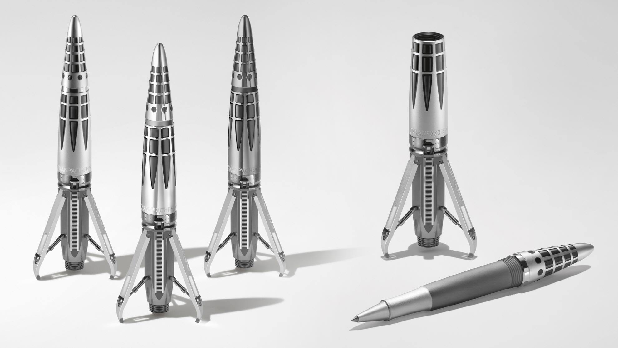 2250만원짜리 '우주선' 펜 나와…스위스 시계 제조사