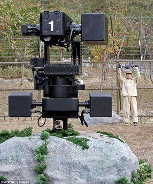 기관총으로 공격까지 가능한 경계 시스템 'SGR-A1' [사진 AFP]