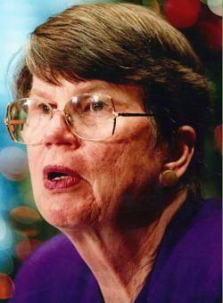 7일(현지시간) 타계한 재닛 리노 전 미국 법무부장관
