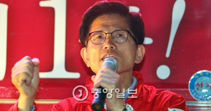 김문수 전 경기지사. 프리랜서 공정식