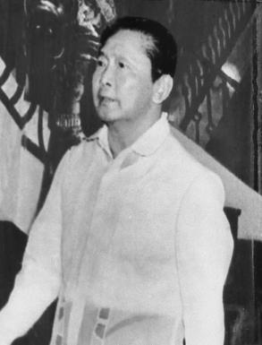 21년간 필리핀을 철권통치한 마르코스 전 대통령. [중앙포토]