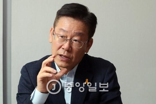 이재명 성남시장. 강정현 기자