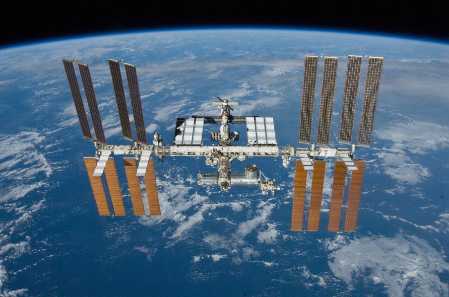국제우주정거장(ISS).  [사진 NASA]