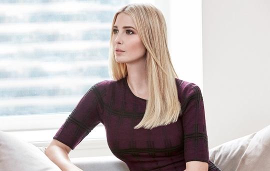 당선이 유력시되는 도널드 트럼프 미국 공화당 후보의 큰 딸인 이방카 트럼프. [사진 이방카 트럼프 트위터]