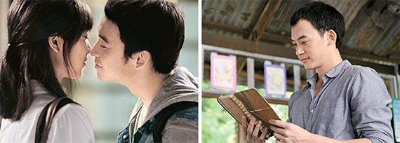 대만 영화 '카페 6'(왼쪽 사진, 16일 개봉)과 태국 영화 '선생님의 일기'. 각각 동명의 베스트셀러를 원작으로 한 탄탄한 스토리와 CF 감독 출신이 담은 세련된 영상이 강점이다. [사진 오원·미로비젼]