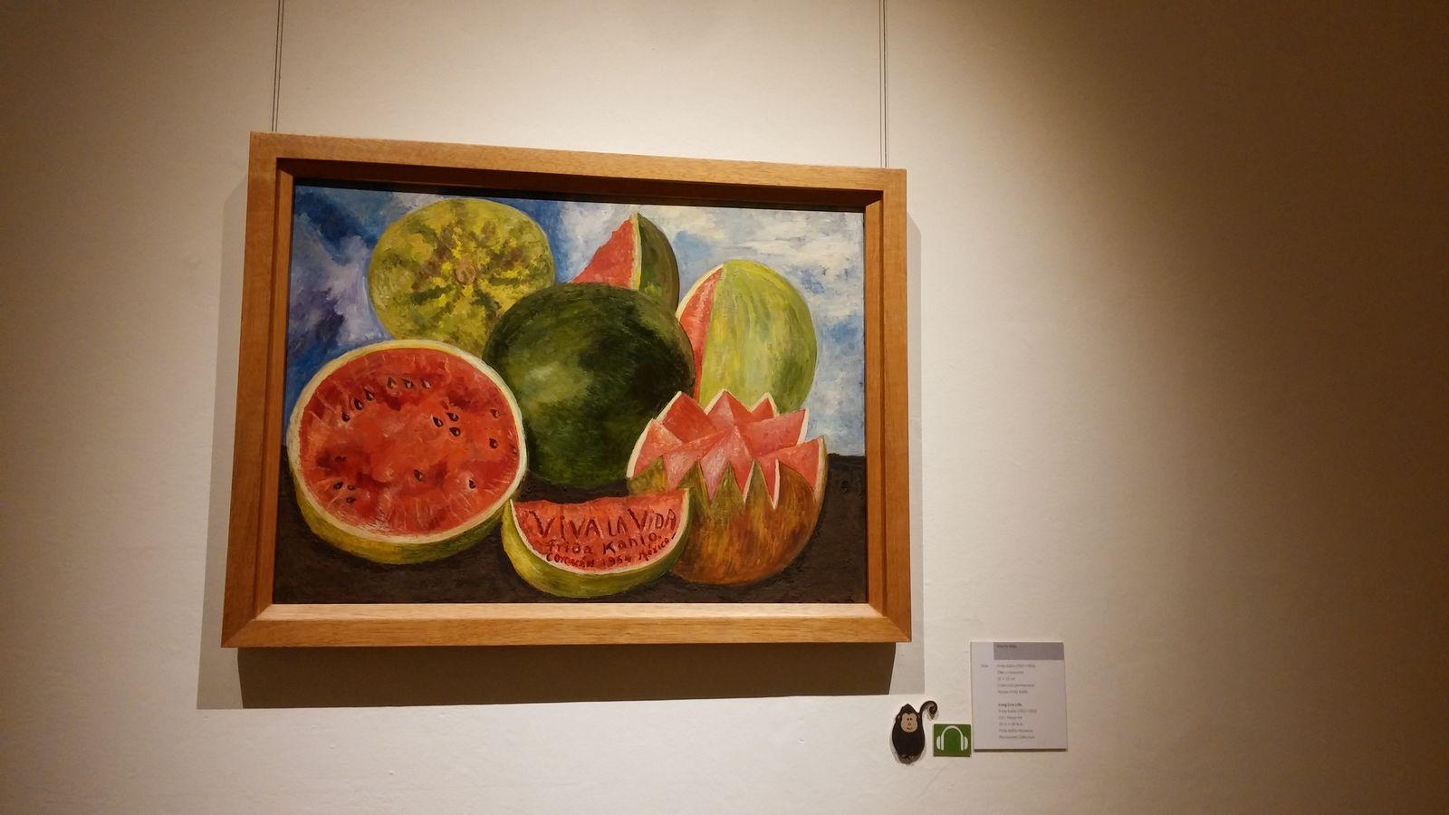 프리다 칼로의 작품 viva la vida.