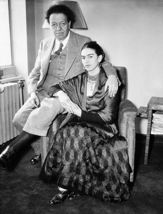 프리다 칼로와 디에고 리베라.