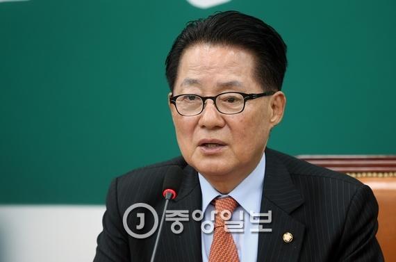박지원 국민의당 비대위원장. [중앙포토]