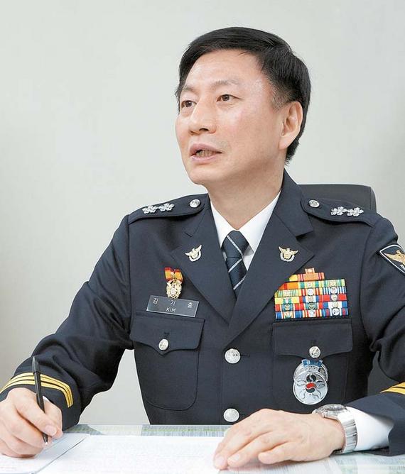 김기출 경찰청 생활안전국장. 프리랜서 임성필