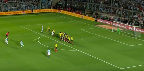 2018 러시아 월드컵 남미 예선 12차전 아르헨티나 vs 콜롬비아 [사진 유튜브 캡처]