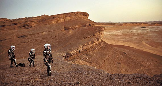 한국에서 19일 첫 방송하는 '인류의 새로운 시작, 마스'는 화성탐사를 공상이 아니라 가까운 2033년의 현실로 그려낸다. [사진 내셔널지오그래픽채널]