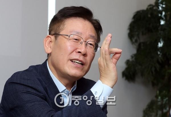 이재명 성남시장. [강정현 기자]