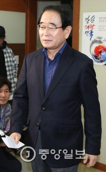 박명재 새누리당 사무총장.