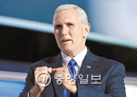 마이크 펜스(57·미 부통령 당선인) [중앙포토]