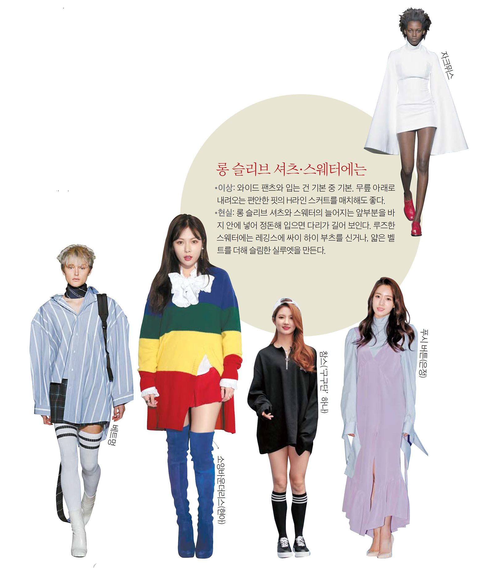 d2b39da8223 cover story] 다시 '오버'하라…XS 스키니 강박을 벗다 - 중앙일보