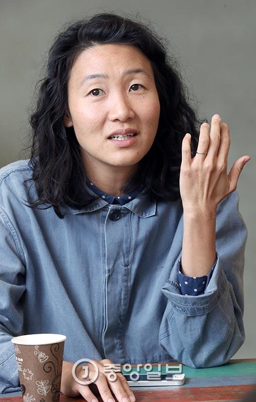 리사 상미 민은 한국에서 태어나 8세까지 살다 가족과 미국으로 이민을 간 교포다. [사진 최정동 기자]
