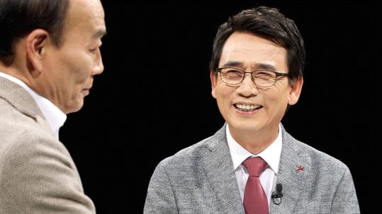 JTBC `썰전`의 진보논객 유시민 씨 [JTBC]