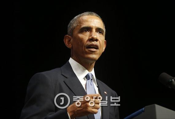 버락 오바마 미국 대통령. [중앙포토]