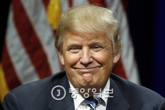 도널드 트럼프 미국 대통령 당선인. [중앙포토]