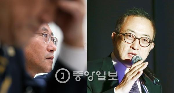 서창석 서울대병원장(왼쪽)과 차광렬 차병원그룹 회장.