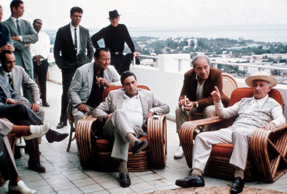 영화 `대부 2`에서 미국 마피아들이 쿠바의 수도 하바나에 모여 이권을 논의하고 있는 장면.  [사진 파라마운트]
