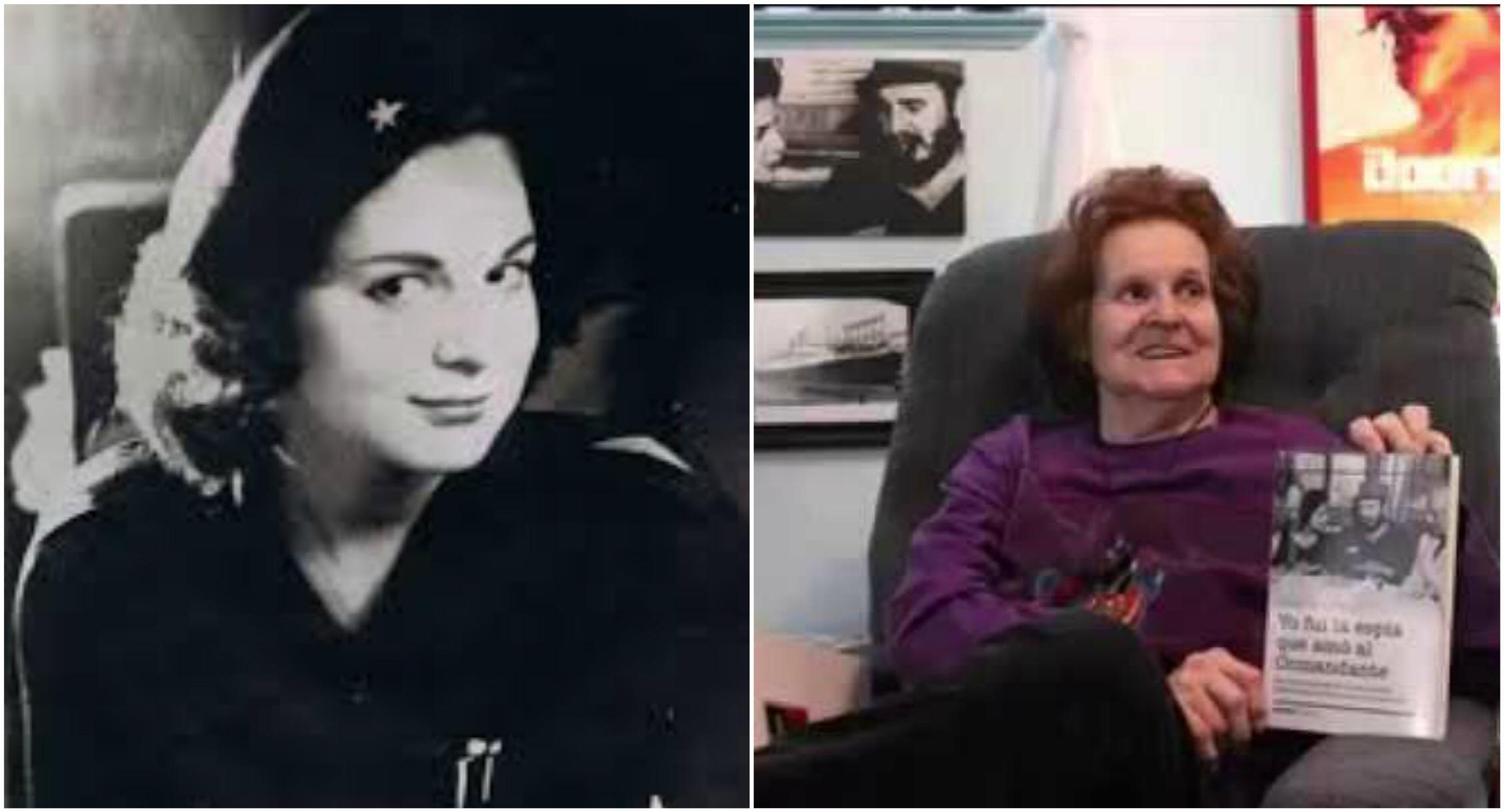 카스트로 암살을 시도한 마리타 로렌즈(77)는 독일 출신의 미국인이었다. 동독에서 자란 그는 1959년 쿠바 공산 혁명 후 카스트로와 동거했다. 그러나 임신중절 수술을 받은 뒤 미국으로 건너가 CIA에 포섭됐다고 한다. 젊을 때 로렌즈와 최근 모습.  [사진 선더스 마우스, 유튜브 캡처]