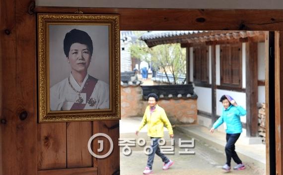 충북 옥천군에 있는 육영수 여사 생가. 프리랜서 김성태
