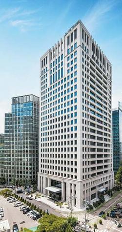 이지스자산운용은 서울 도심에 위치하고 있는 퍼시픽타워를 기초자산으로 하는 오피스 펀드 공모를 개인투자자를 대상으로 진행하고 있다. 배당수익률은 5~7%를 목표로 하고 있다. [사진 이지스자산운용]