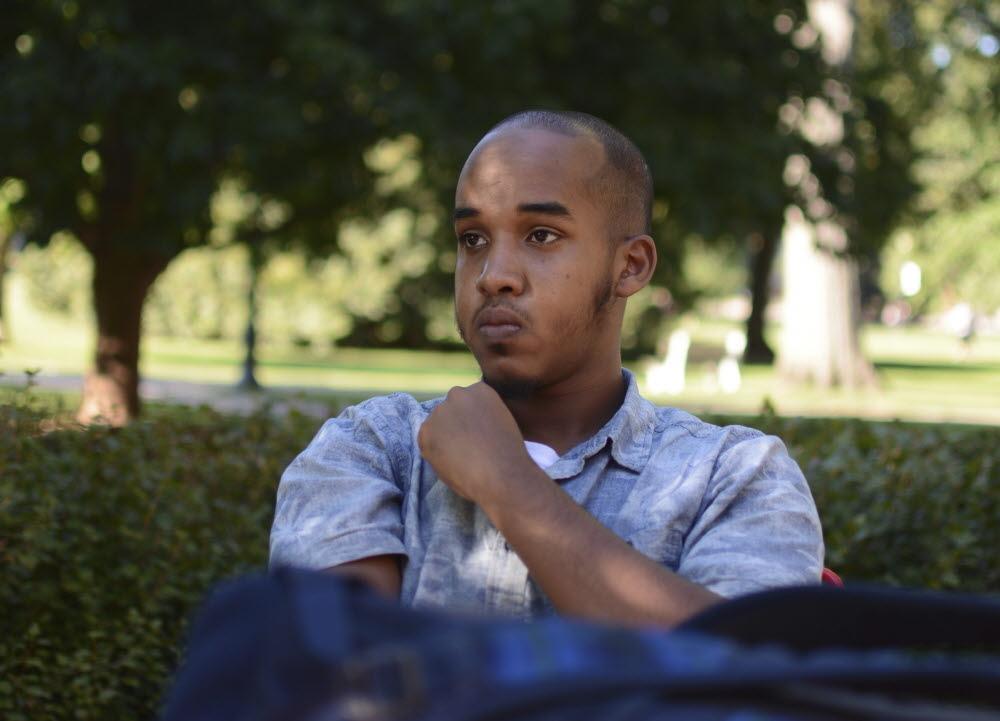 범인으로 지목받는 소말리아 태생의 미국 영주권자 압둘 라자크 알리 아르탄(18). 그는 9시53분쯤 현장을 진압한 경찰이 쏜 총에 맞아 사망했다. [AP=뉴시스]