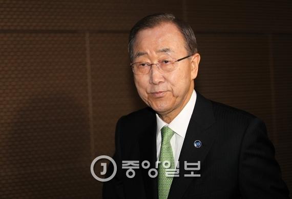 반기문 UN 사무총장. [중앙포토]