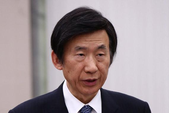 윤병세 외교부 장관. 김현동 기자
