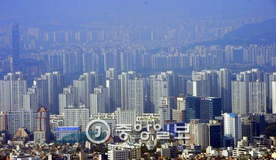 송파·강남구 아파트 단지 모습. [청와대사진기자단]