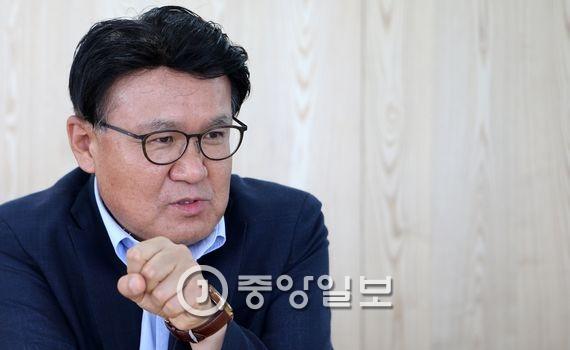 황운하 경무관. 김춘식 기자