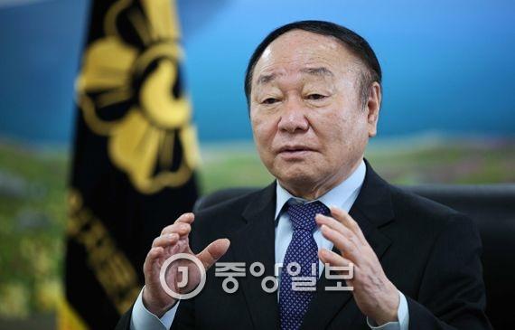 현경대(77·민주평통 전 수석부의장). 오종택 기자
