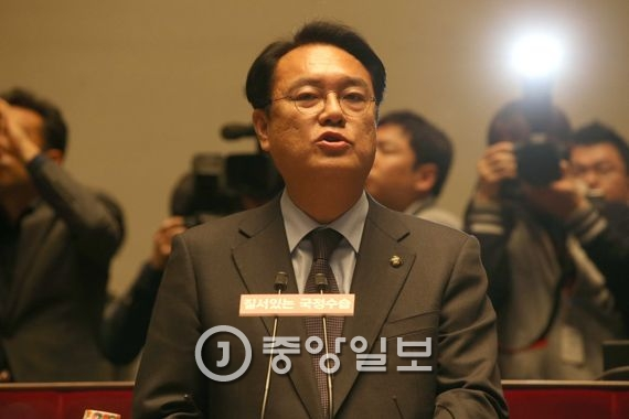 정진석 (새누리당 원내대표). 오종택 기자