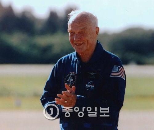 최고령 우주비행사, 美상원의원 존 글렌. [중앙포토]