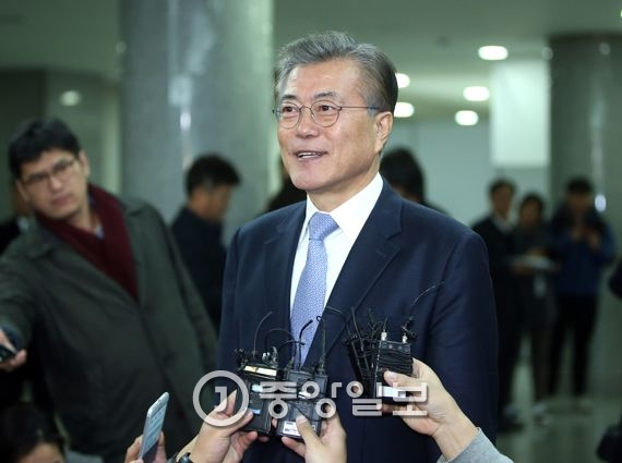 문재인 전 대표. 박종근 기자