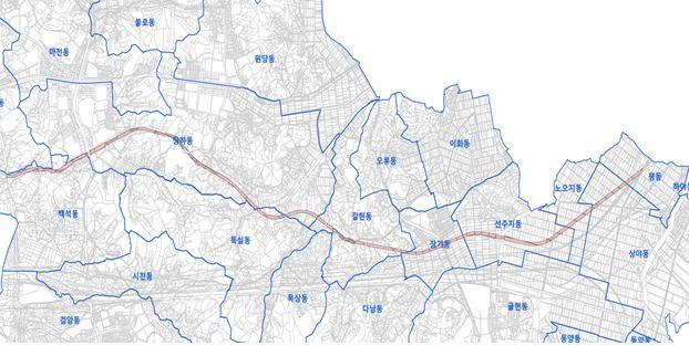 수도권매립지 전용도로 위치 [사진 인천시]