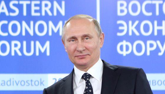 지난 9월 열린 동방경제포럼에 참석한 러시아 푸틴 대통령. [중앙포토]
