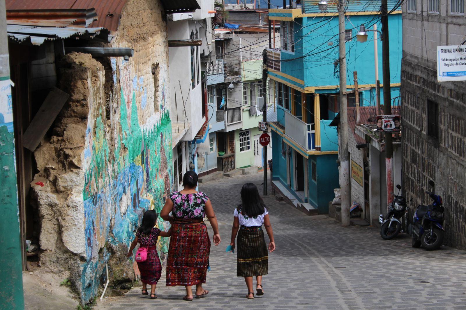 산 페드로 마을.
