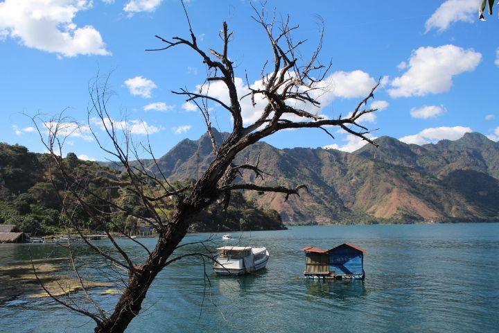 아띠뜰란 호수 산 페드로 마을.
