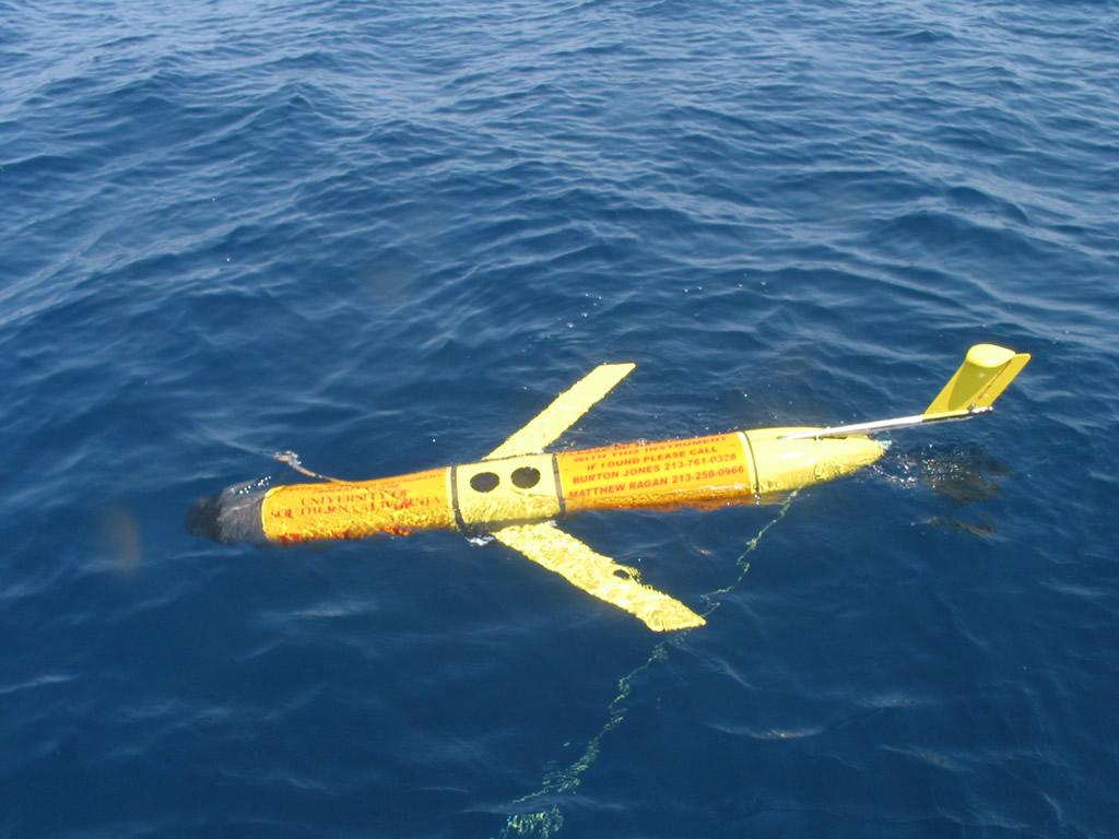 이번에 중국이 나포한 UUV와 같은 모델의 `LBS 글라이더` 해양정보 수집 UUV.  [사진 미 해군]