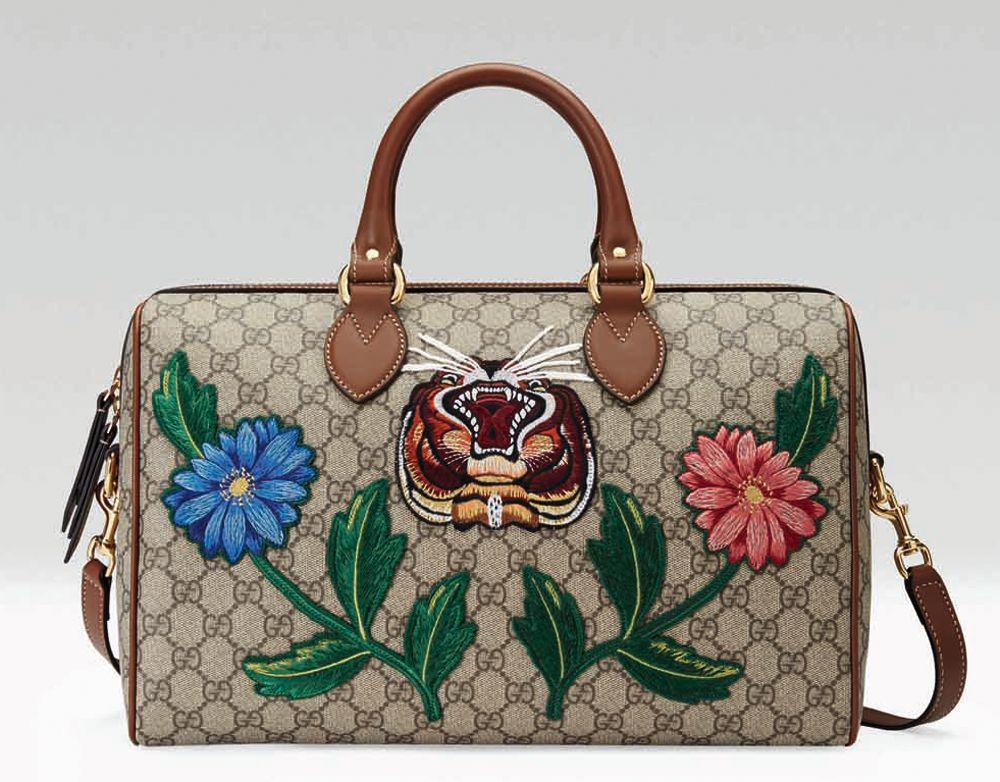 구찌가 국내에서 독점적으로 선보인 코리아 컬렉션.